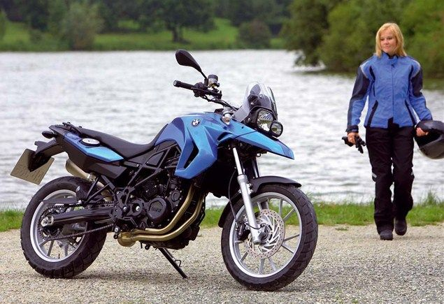 10 best motorcycles for women - bmw f650gs low - page 10