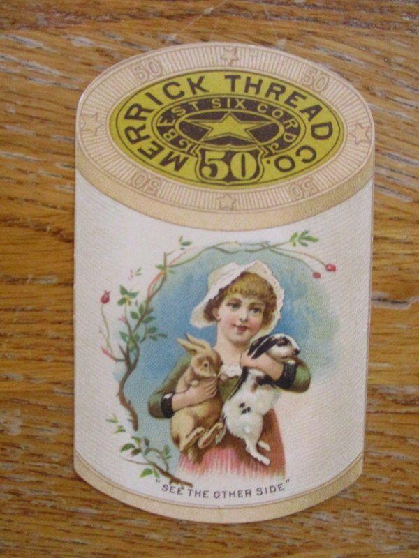 1889 Advertising Calendar.