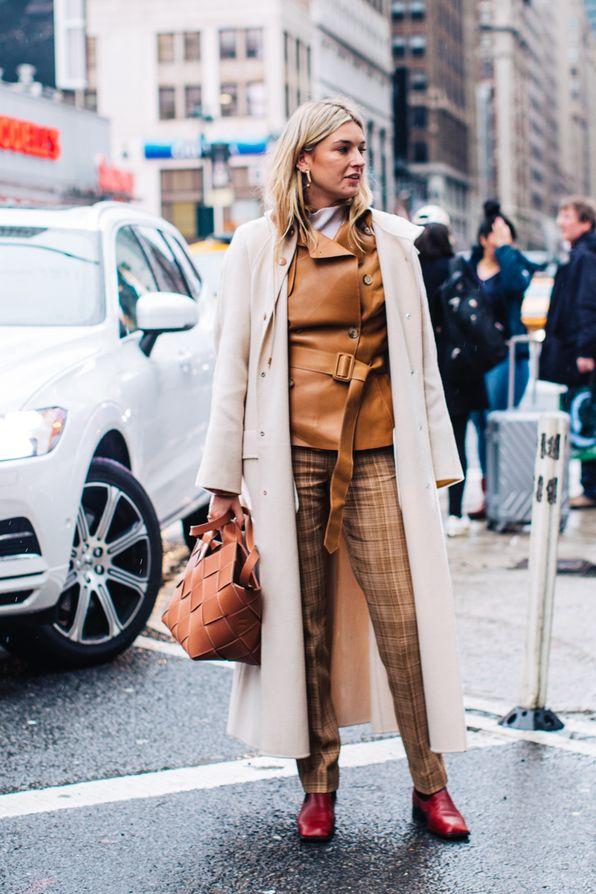 Street style from New York Fashion Week Fall/Winter 2018 ...