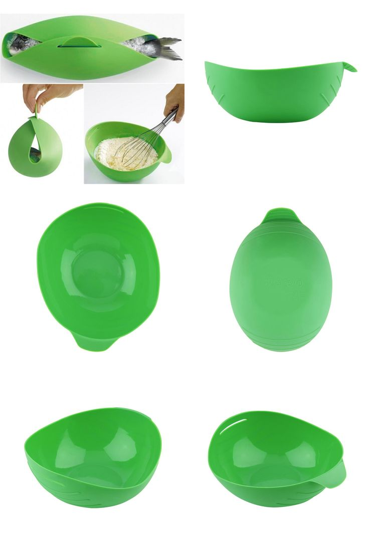 [visit To Buy] Silicone Fish Kettle Steamer Microwave Poacher Cooker Food  Vegetable Bowl Basket