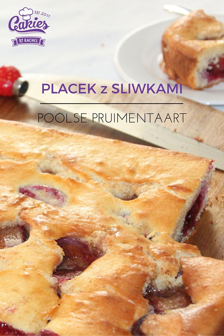 Placek z Sliwkami - Poolse Pruimentaart