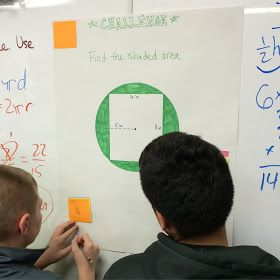 It has been all about finding areas recently in sixth grade math! The last week or two, we have been finding the area of parallelograms, tri...