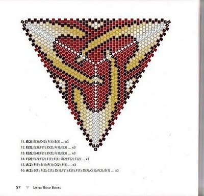 Triangle miyuki delica