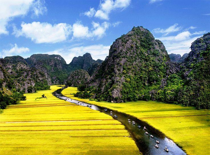 Le Complexe paysager de Trang An, Vietnam
