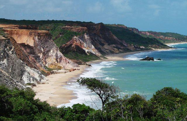 Praia de Tambaba, Conde – Paraíba, BRASIL
