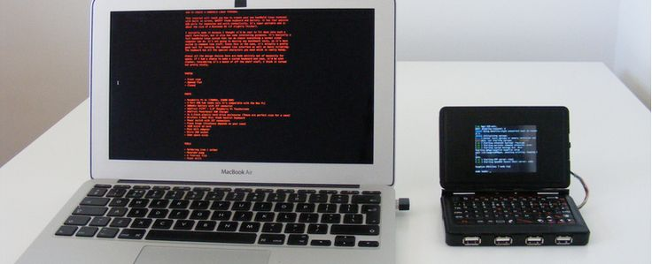 Build your own Raspberry Pi-powered handheld Linux terminal