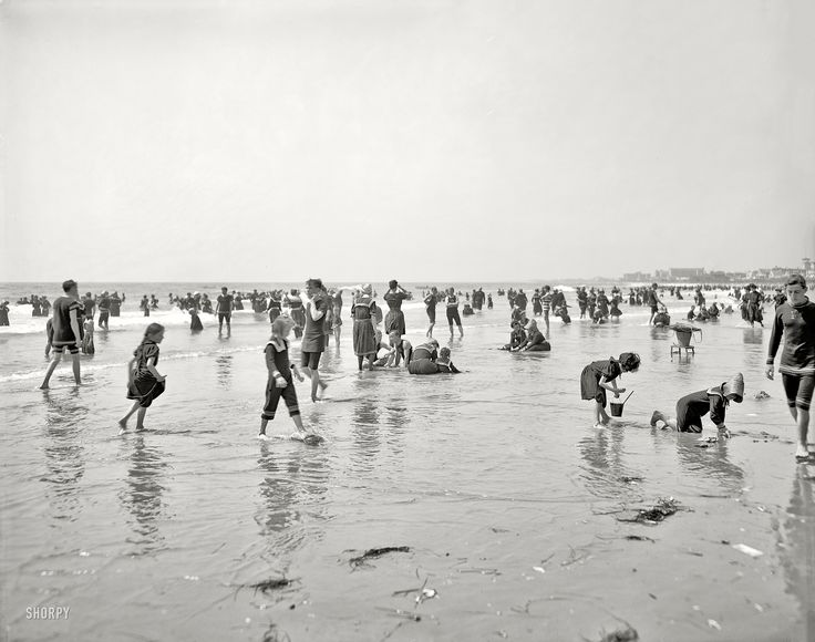 Amazing detail in this Jersey Shore vintage pic Shorpy Historical Photo Archive :: So Many Summers Ago: 1905