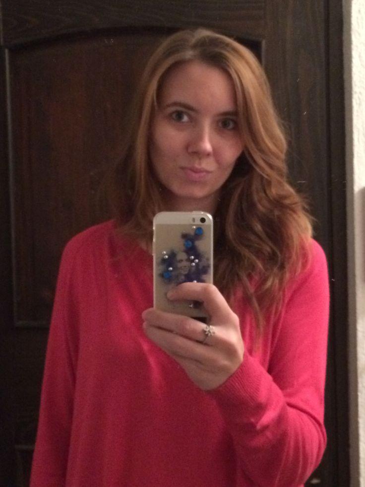 Selfie con la cover personalizzata