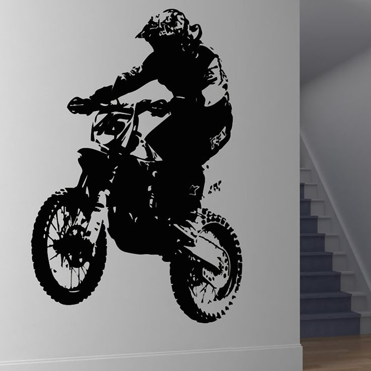 Dirt Bike Room Decorations
