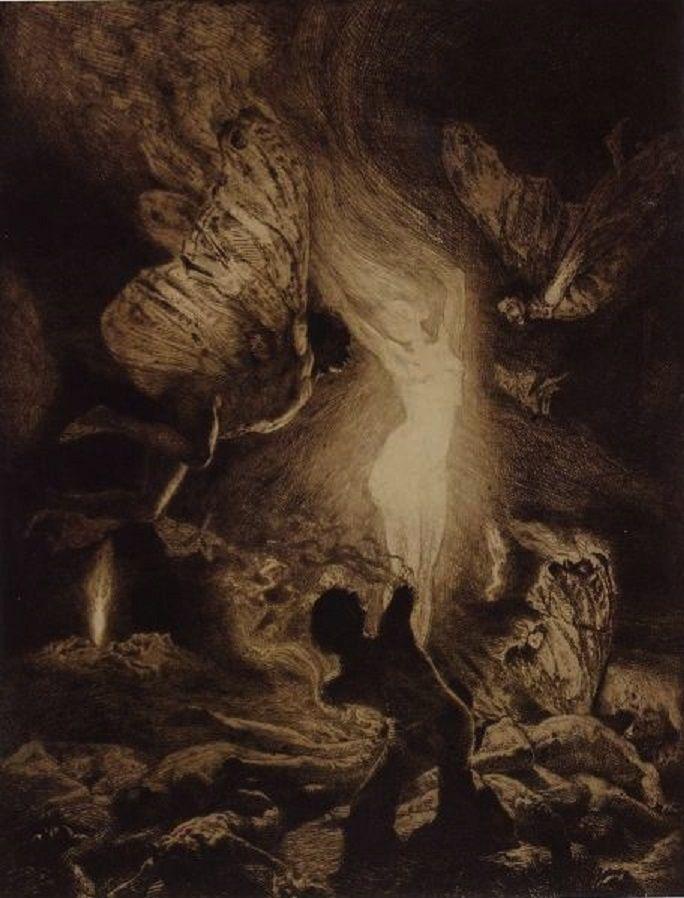 Le Prince Lointain: Marcel Roux (1878-1922), Femme Flamme - 1909