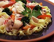 Farmers Market Place - Recipe: Heart Healthy Chicken Fettuccine Primavera
