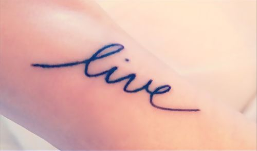 Best 10 cursive fonts for tattoos ideas on pinterest for Small cursive tattoos