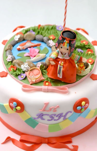 Korean Birthday Cake Images : 156 best images about Cake on Pinterest Birthday cakes ...