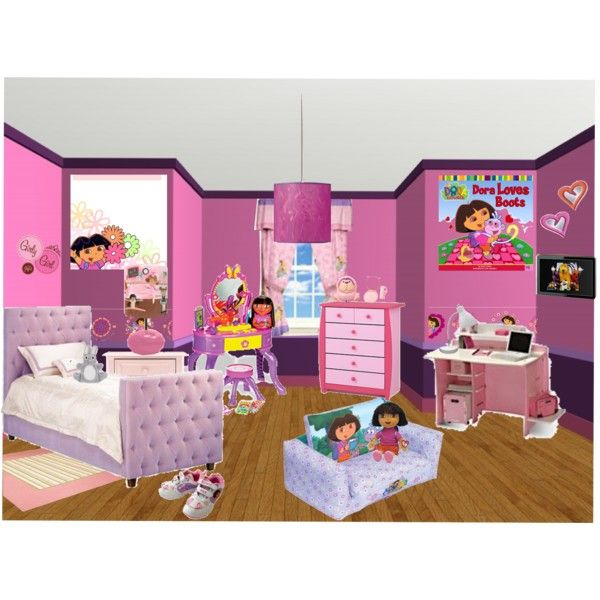 11 best dora room images on pinterest dora the explorer for Dora themed bedroom designs