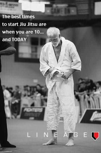 Today is always a great day. Our oldest student is 70, and still competing!! Brazilian Jiu Jitsu | Seaside BJJ | orbjj.com | 30 Days Free!