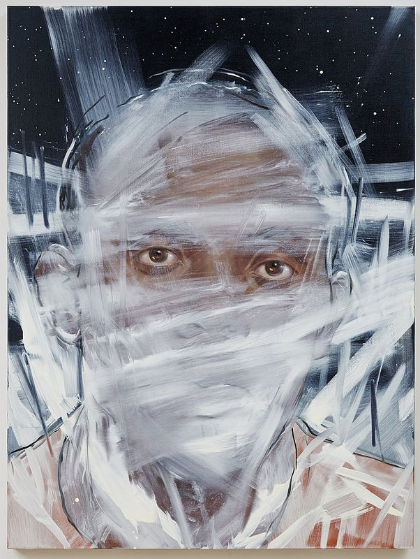 """On View: Titus Kaphar's """"Drawing the Blinds"""" and """"Asphalt and Chalk"""" at Jack Shainman Gallery 