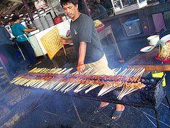 Sateh Gambing  (Javaanse Geiten Sate)