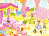 SofiaJuegos.com - Juego: Decorar Baño de Sofia - Princesas Disney Online