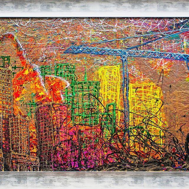Praca na zlecenie. #artoftheday #gallery #paint #instaart #artwork #painting #artist #inspiration #art #dembowski #ami #ax