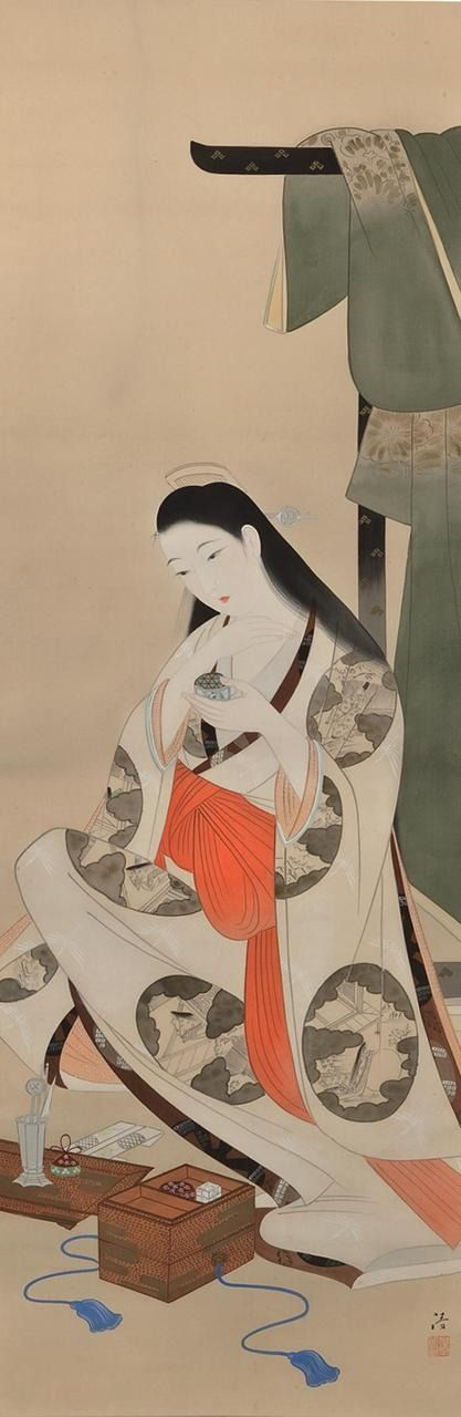 Subtle Fragrance on a Quiet Night (Sei ya bun kô 静夜聞香), Kobayakawa Kiyoshi, 1896-1948 小早川清