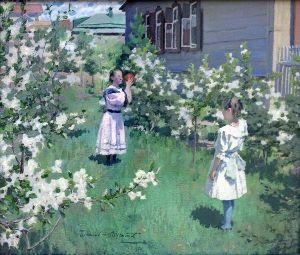 Виктор Борисов-Мусатов «Майские цветы»