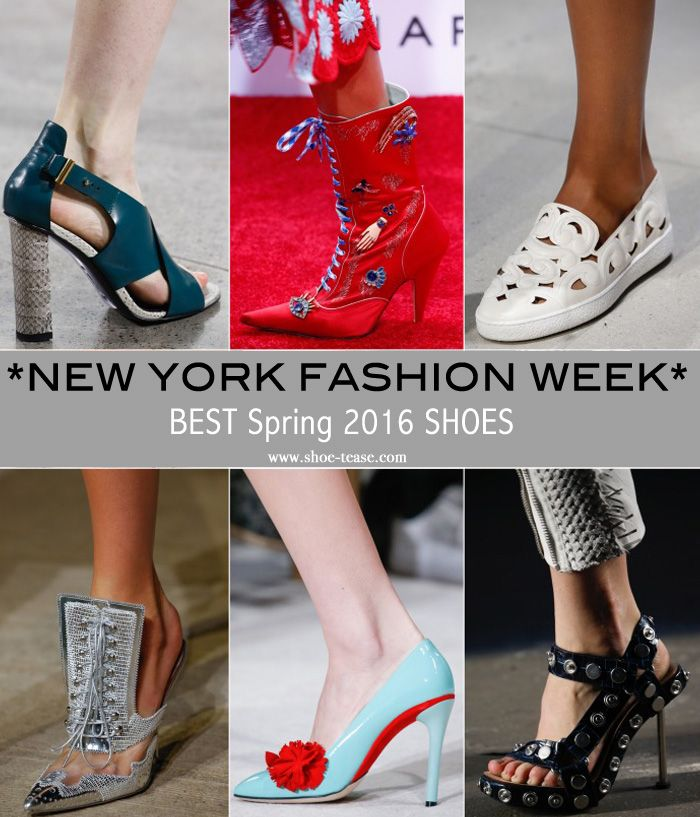 Best Spring 2016 Shoes from New York Fashion Week