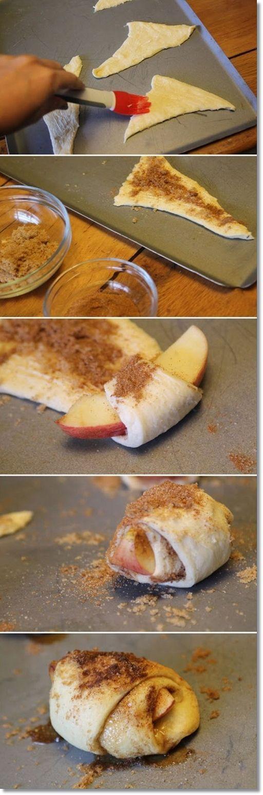 pedacitos manzana