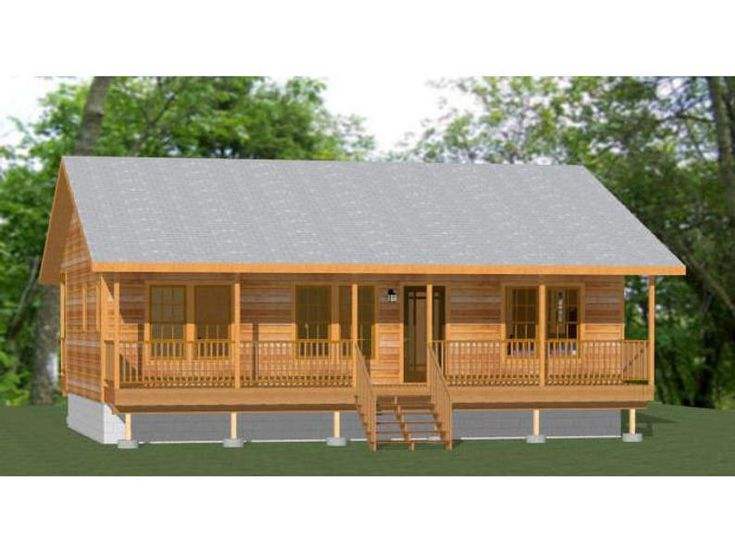 36x24 House 2 Bedroom 2 Bath 864 Sq Ft Pdf Floor Plan Etsy In 2020 Building Plans House Cabin House Plans Barn House Plans