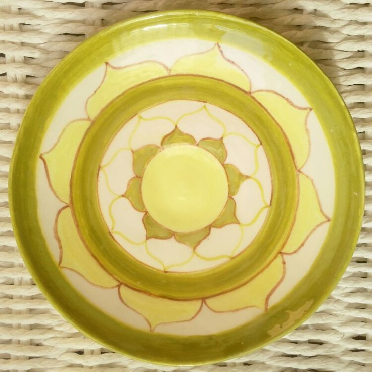 Sun pattern plate. Тарелка солнечный круг ...не хватает неба вокруг 😏