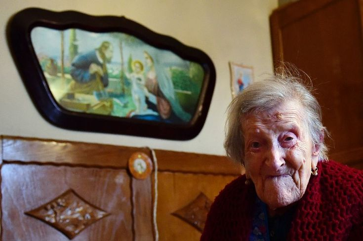 An alert and chatty Italian woman, Emma Morano, on Tuesday celebrates her 117th birthday as the last known person alive who was born in the 19th century.  Born November 29, 1899,  she is the world's oldest living person and the secret to her longevity appears to lie in eschewing usual medical wisdom
