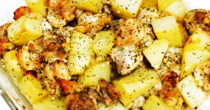 簡単!鶏もも肉とジャガイモのオーブン焼き by まみつんごはん [クックパッド] 簡単おいしいみんなのレシピが255万品