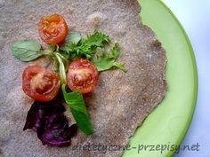 dietetyczna tortilla pełnoziarnista