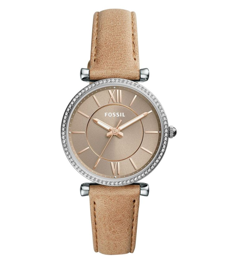 Shop for Fossil Carlie Analog Leather-Strap Watch at Dillards.com. Visit Dillards.com to find clothing, accessories, shoes, cosmetics & more. The Style of Your Life.