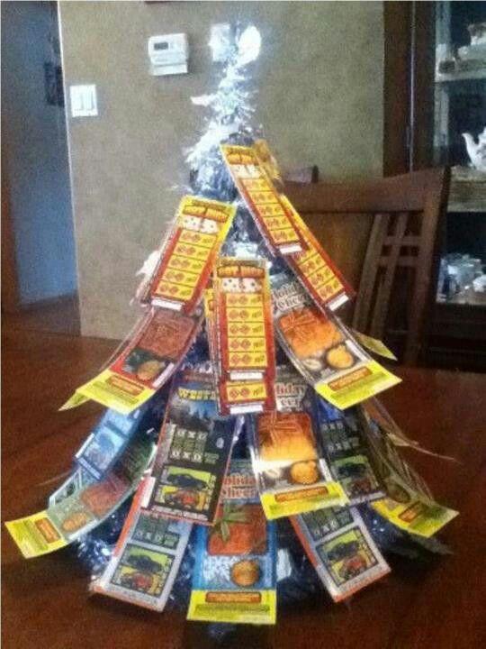 Lottery ticket tree! | Gift Ideas | Pinterest