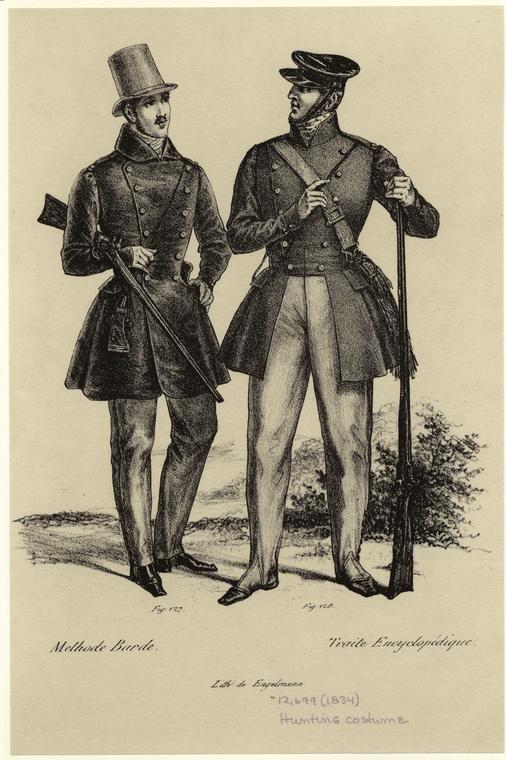 Women's Fashions 1825 - 1840