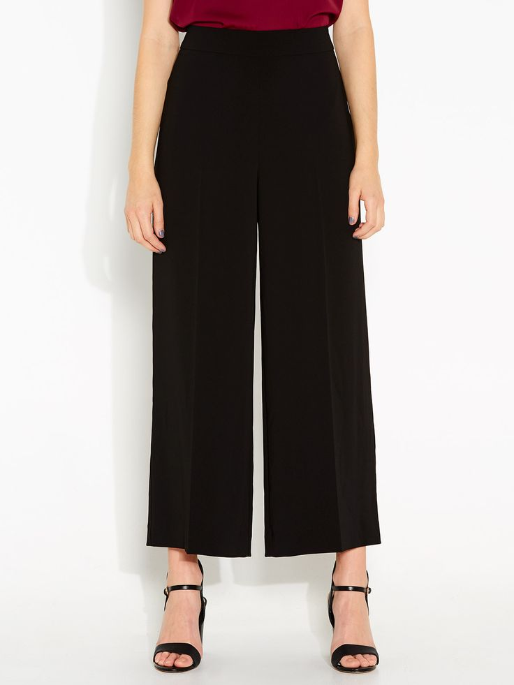 Image for Wendy Wide Leg Cropped Pant from Portmans
