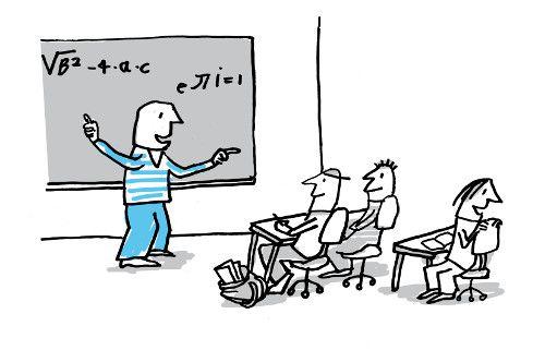 Wiskundeleraar