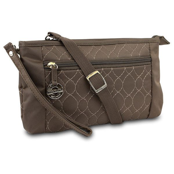 Travelon Convt. Quilted Wristlet Waist Pouch & Crossbody Bag 78