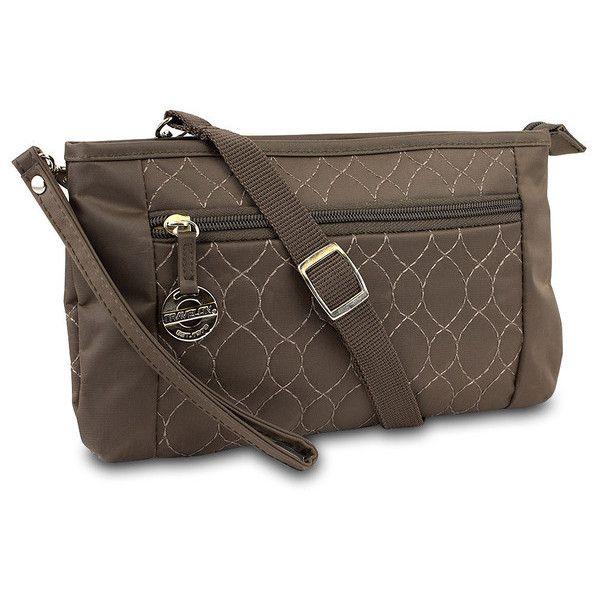 Travelon Convt. Quilted Wristlet Waist Pouch & Crossbody Bag 78