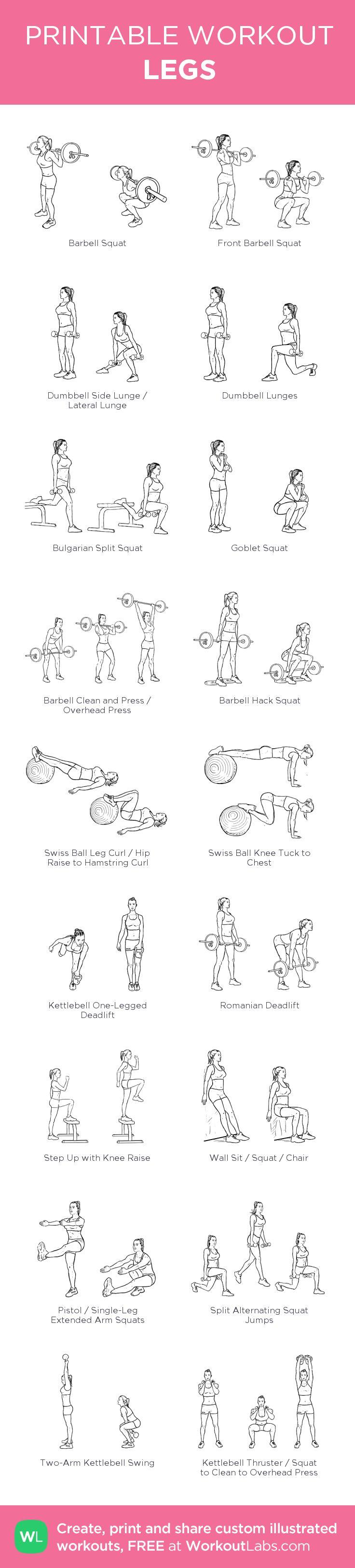 LEGS: pick 8-10 #customworkout