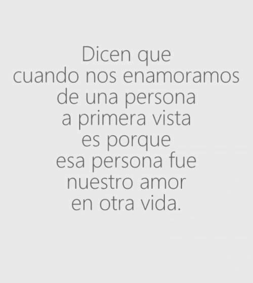 Cute Love Quotes In Spanish For Her : ... love for the first time it is because that person was our love in