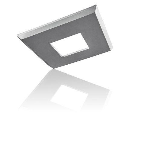 The EzClipse Low Profile square cover attaches with a magnet to your existing 8 inch can lights/recessed lighting -- no tools, no mess.
