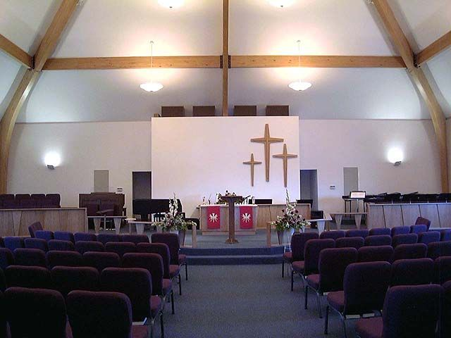 Church sanctuary design ideas geodesic domes for Church interior designs pictures