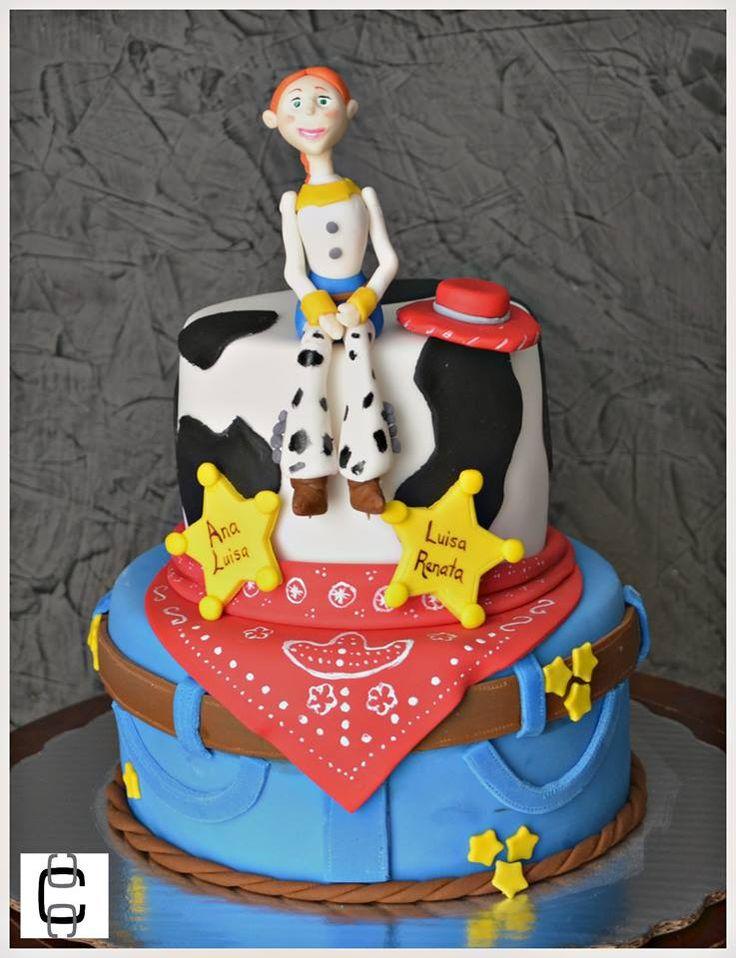 Pastel De Cumpleaños De Jessie La Vaquerita De Toy Story