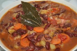 Hierbabuena y Pimienta: Alubias rojas con verduras ¡Mmm! ¡Una receta muuuy sabrosa!