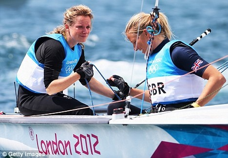 Hannah Mills and Saskia Clark - Silver, Women's 470 Sailing