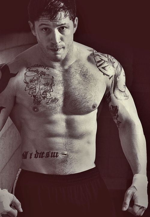 Tom Hardy - the only man who could literally leave me speechless just by sight