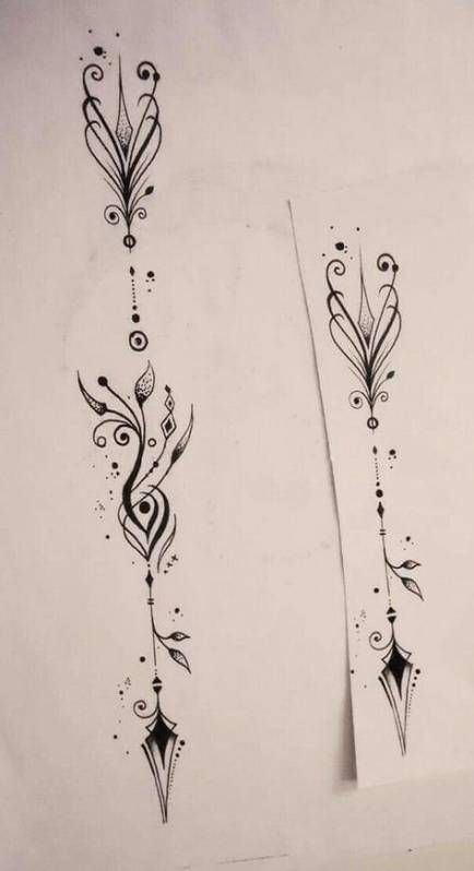 Trendy tattoo arrow spine tatoo Ideas