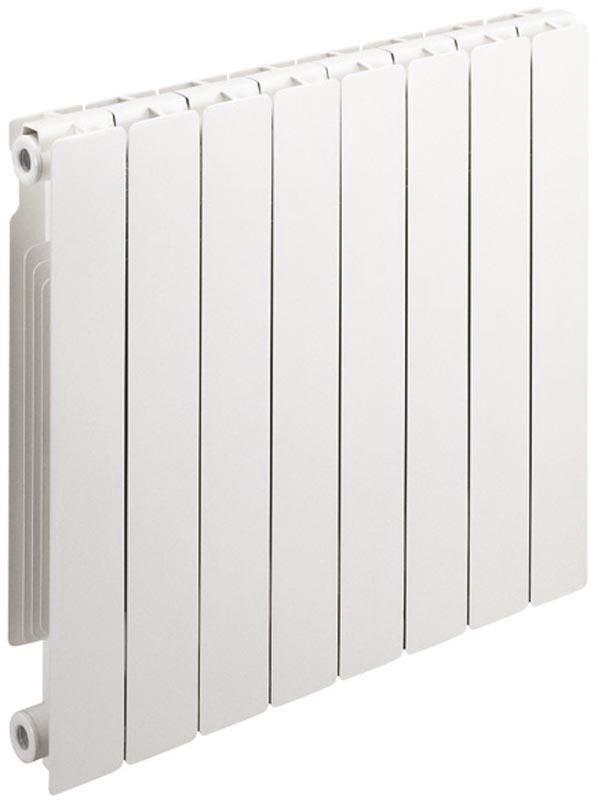 Radiateur décor en aluminium gamme STREET 70 entraxe 700 10 éléments 1300 Watts réf 6005560 - DECORAL - Chauffage et Climatisation -CEDEO