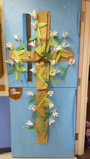 Classroom Door For Art Show And Spring Concert Easter